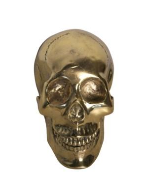 Z Small Skull, Brass