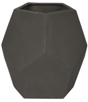 122 Ceramic Vase, Beton Finish