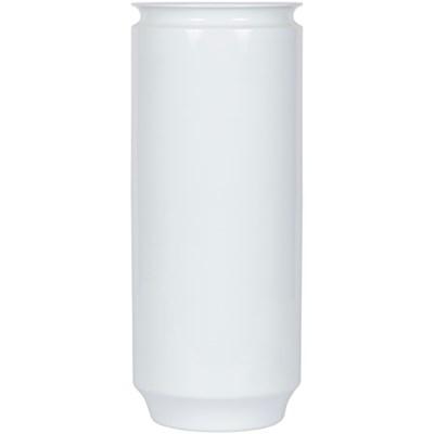 129 Vase, White