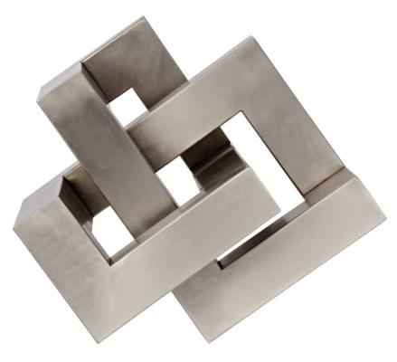 Illusion Object, Antique Silver