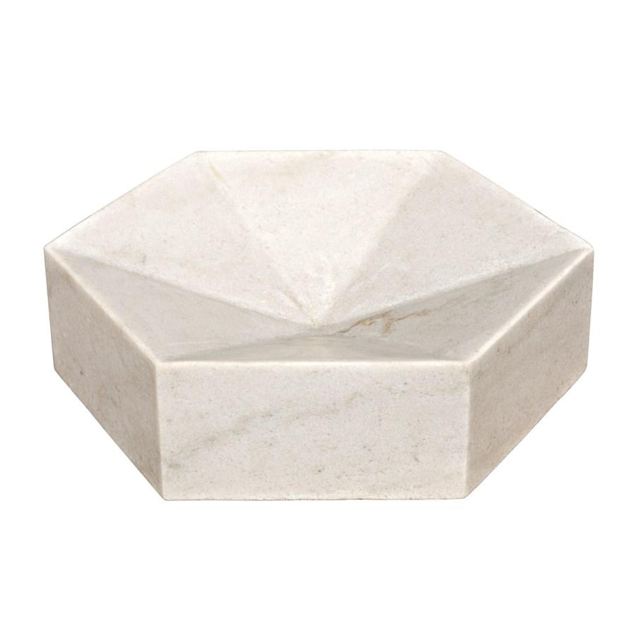 Conda Tray, White Stone
