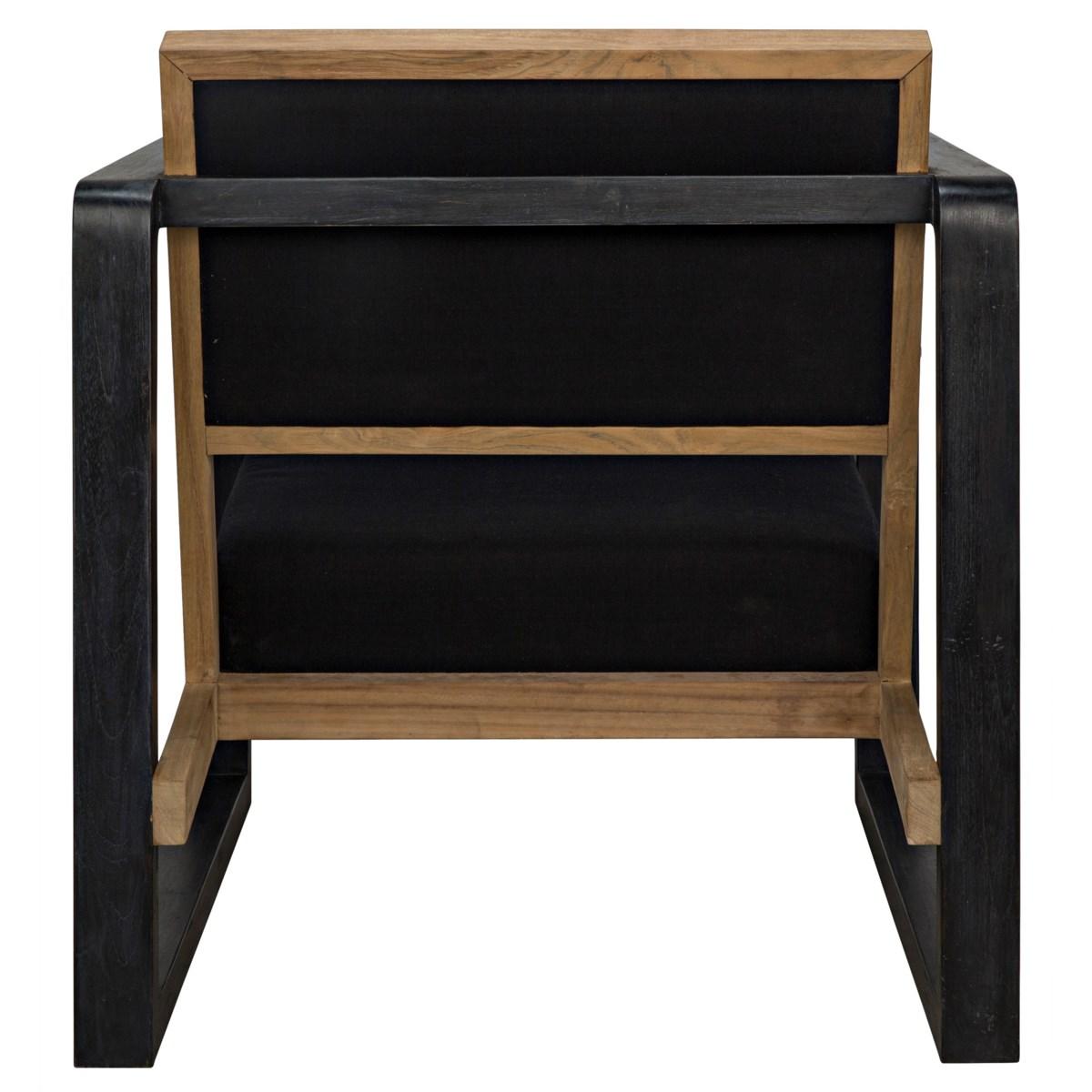 Mala Chair, Charcoal Black