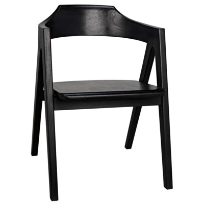 Anan Chair, Charcoal Black