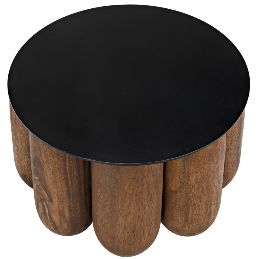 Apollo Coffee Table w/Metal Top