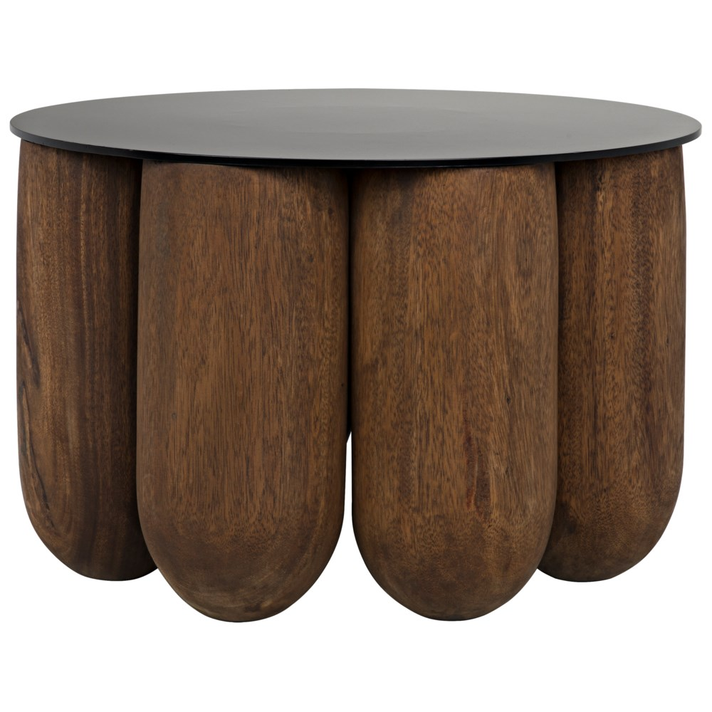 Apollo Coffee Table w/Metal Top