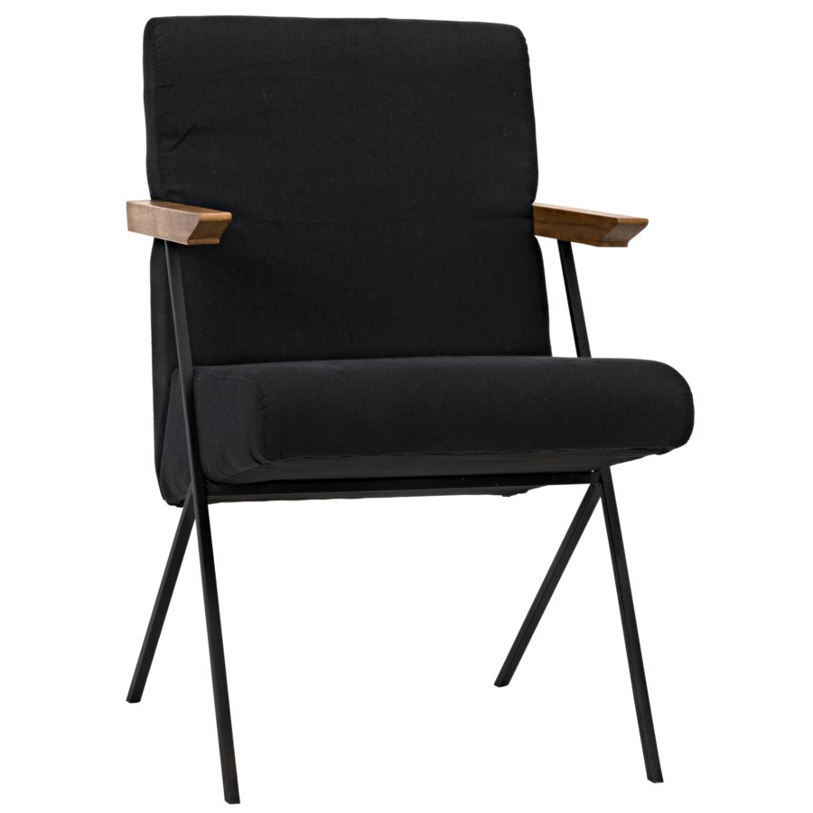 Finn Chair w/Metal, Teak