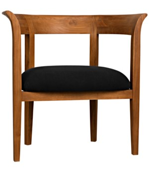 Webster Club Chair, Teak
