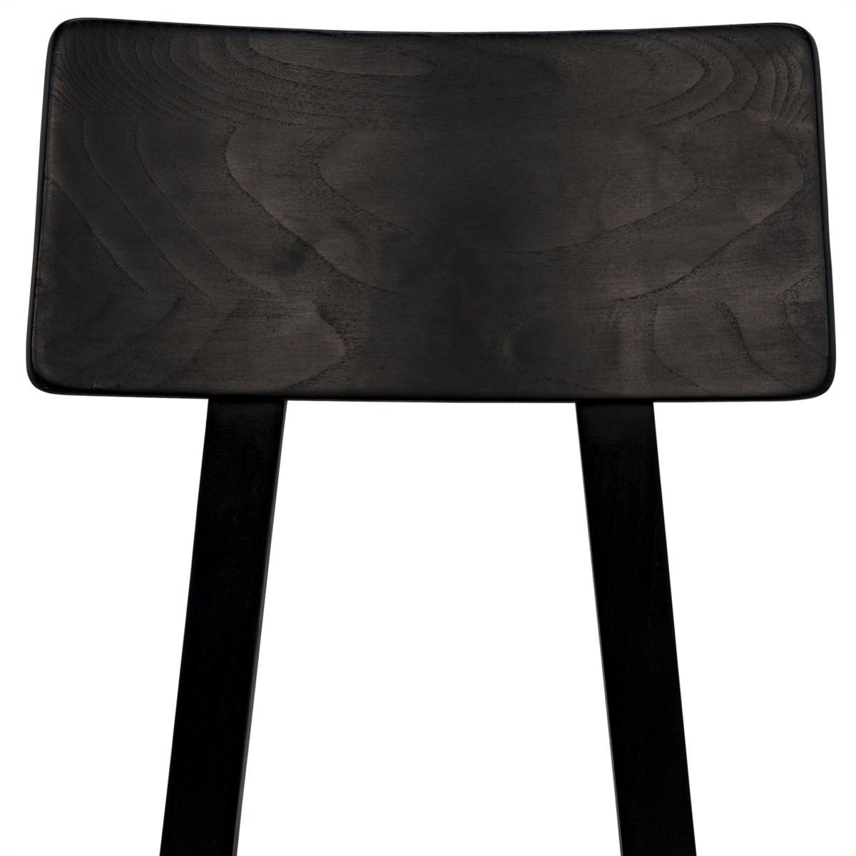 Kimi Chair, Charcoal Black