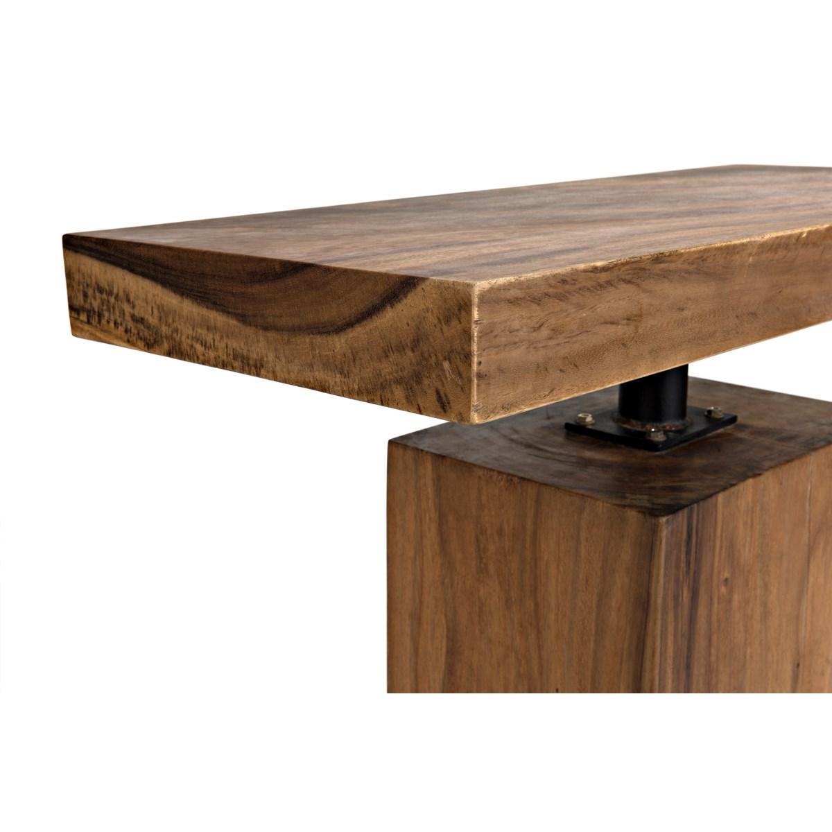 Titan Side Table, Munggur Wood