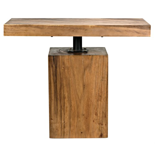 Titan Side Table, Munggur Wood
