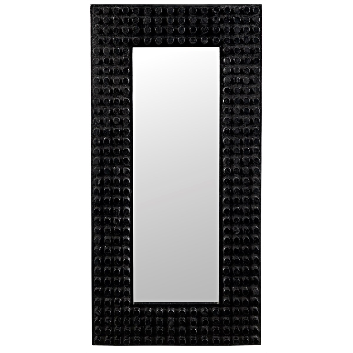 Faustus Mirror, Charcoal Black