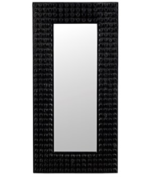 Faustus Mirror, Charcoal Black