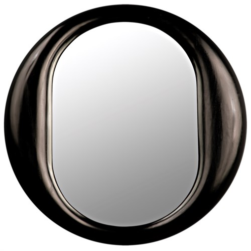 Oh Mirror, Charcoal Black