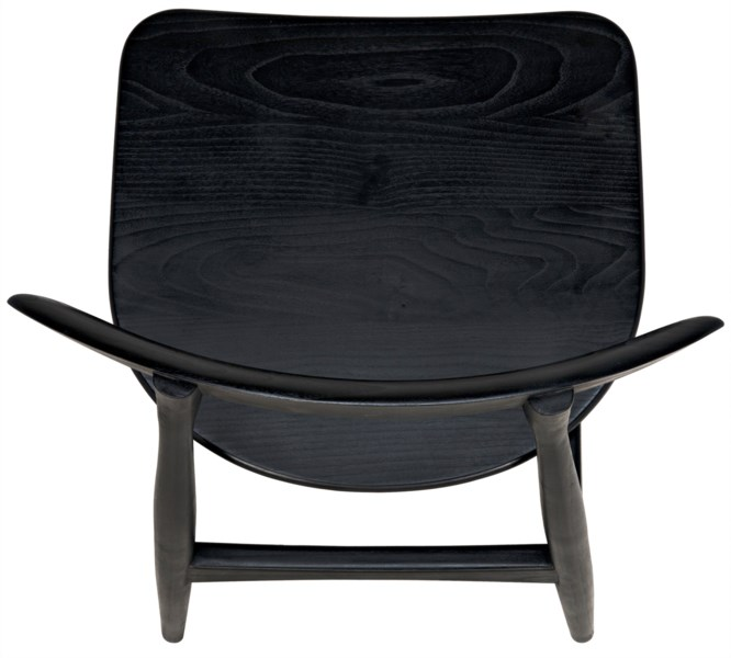 Surf Chair, Charcoal Black