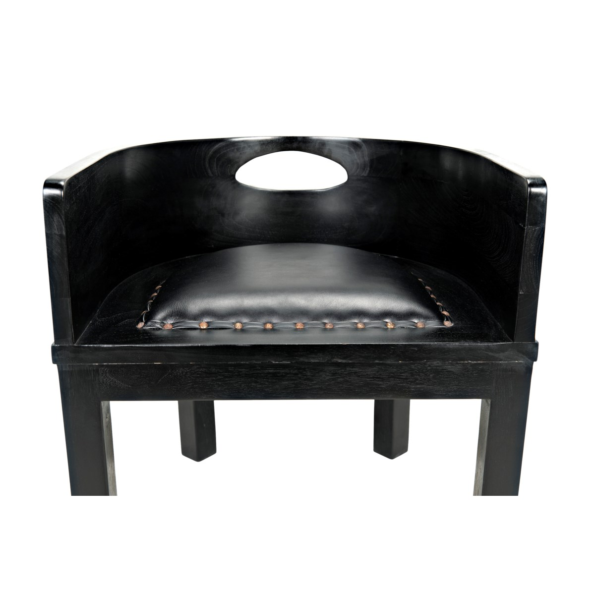 Latour Chair w/Leather, HB