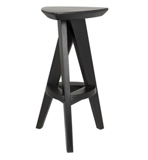 Twist Counter Stool, Charcoal Black