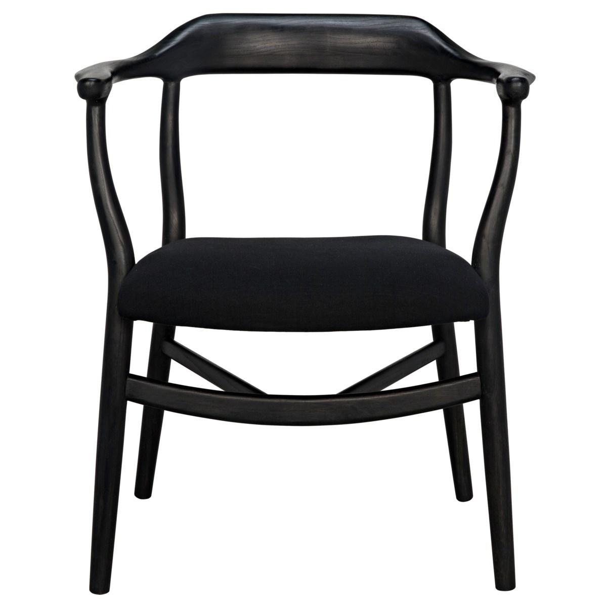 Rey Chair, Charcoal Black
