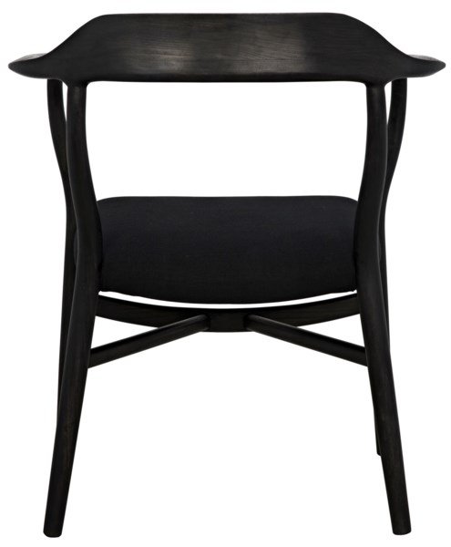 Rey Chair, Charcoal Black