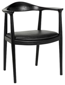 Dallas Chair, Charcoal Black