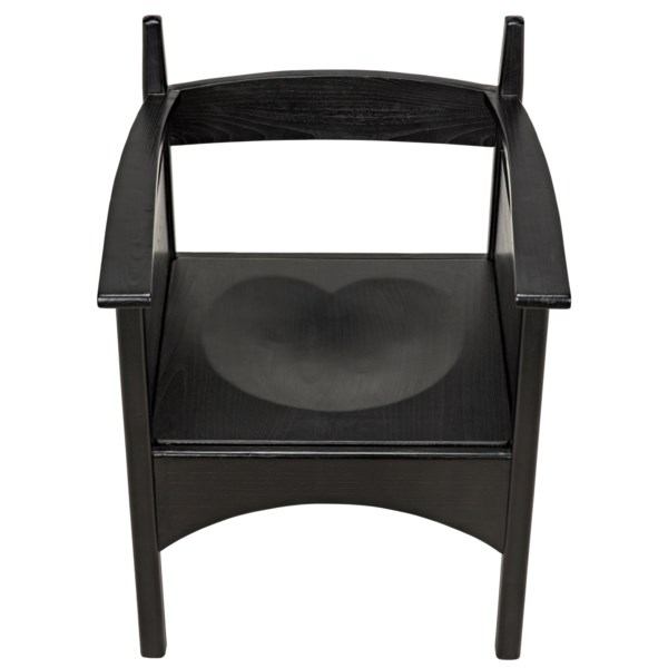 Come And Go Armchair, Charcoal Black