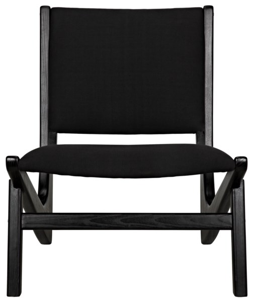 Bumerang Chair, Charcoal Black