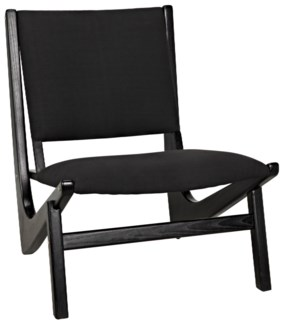 Bumerang Chair, Charcoal Black