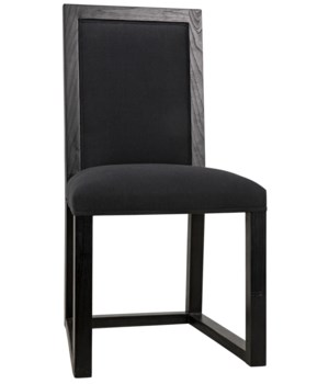 Manos Chair, Charcoal Black
