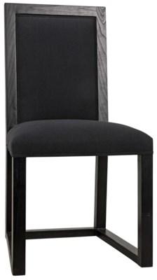 Manos Chair, Charcoal Black