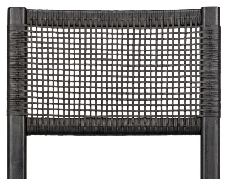 Lobos Chair, Charcoal Black