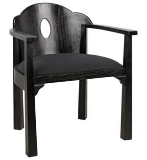 Kaiser Chair, Charcoal Black