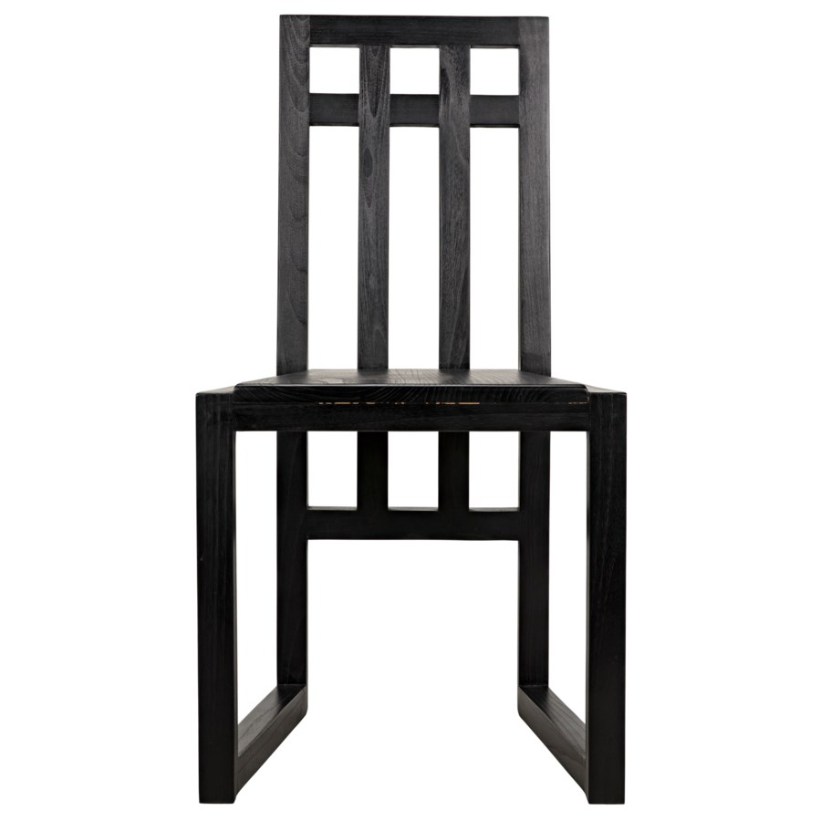 Edge Chair, Charcoal Black