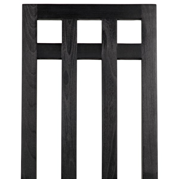 Edge Chair, Charcoal Black