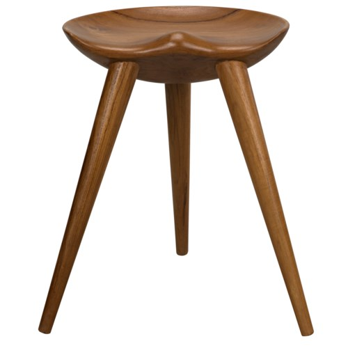Parker Counter Stool, Teak