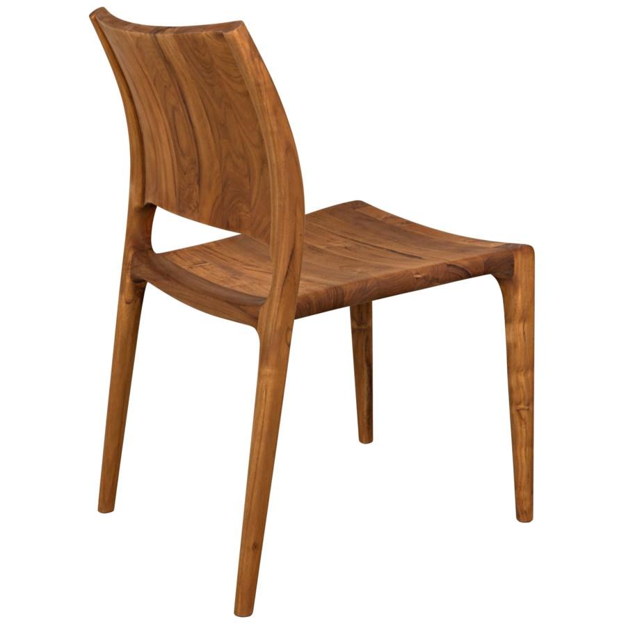 Suzu Stackable Chair, Teak