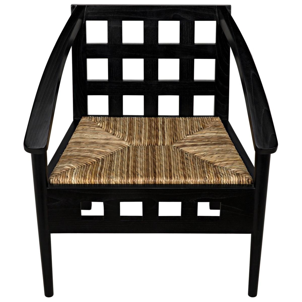 Humboldt Chair, Charcoal Black