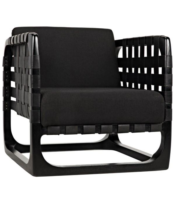 Nebula Chair, Charcoal Black