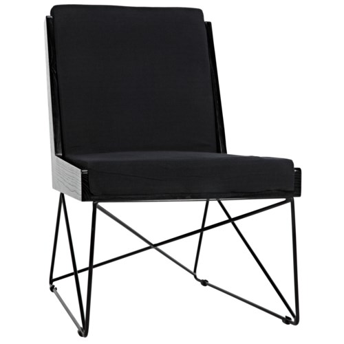 Wiki Chair w/Metal Frame