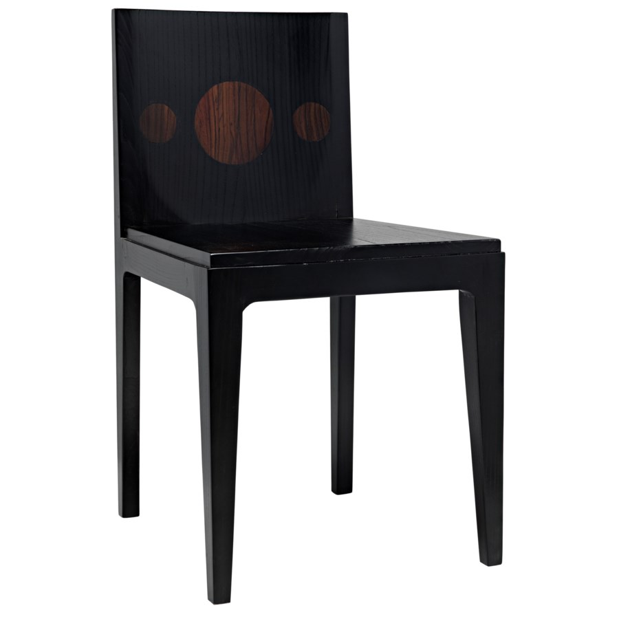 Daphne Chair, Charcoal Black