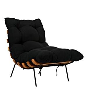 Hanzo Chair w/Metal Legs, Teak