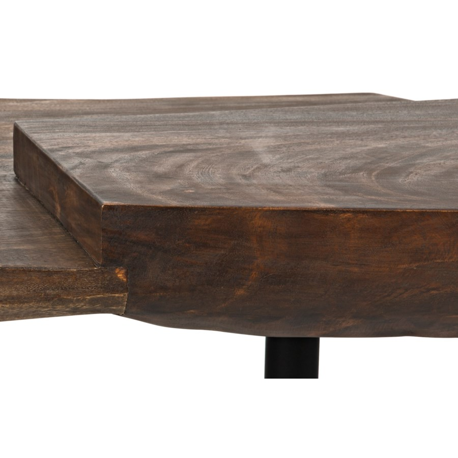 Madoc Coffee Table w/Iron Legs