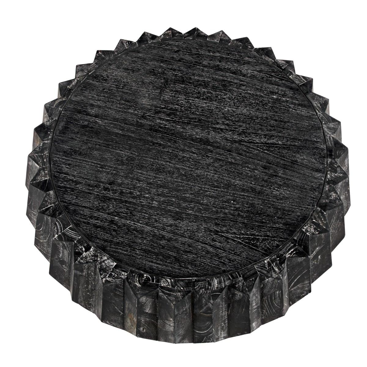 Tamela Coffee Table, Cinder Black