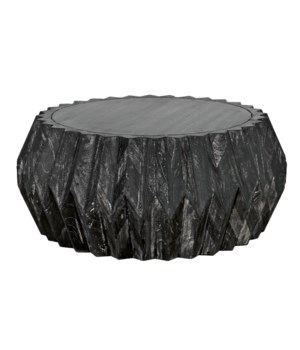 Tamela Coffee Table, Cinder Black
