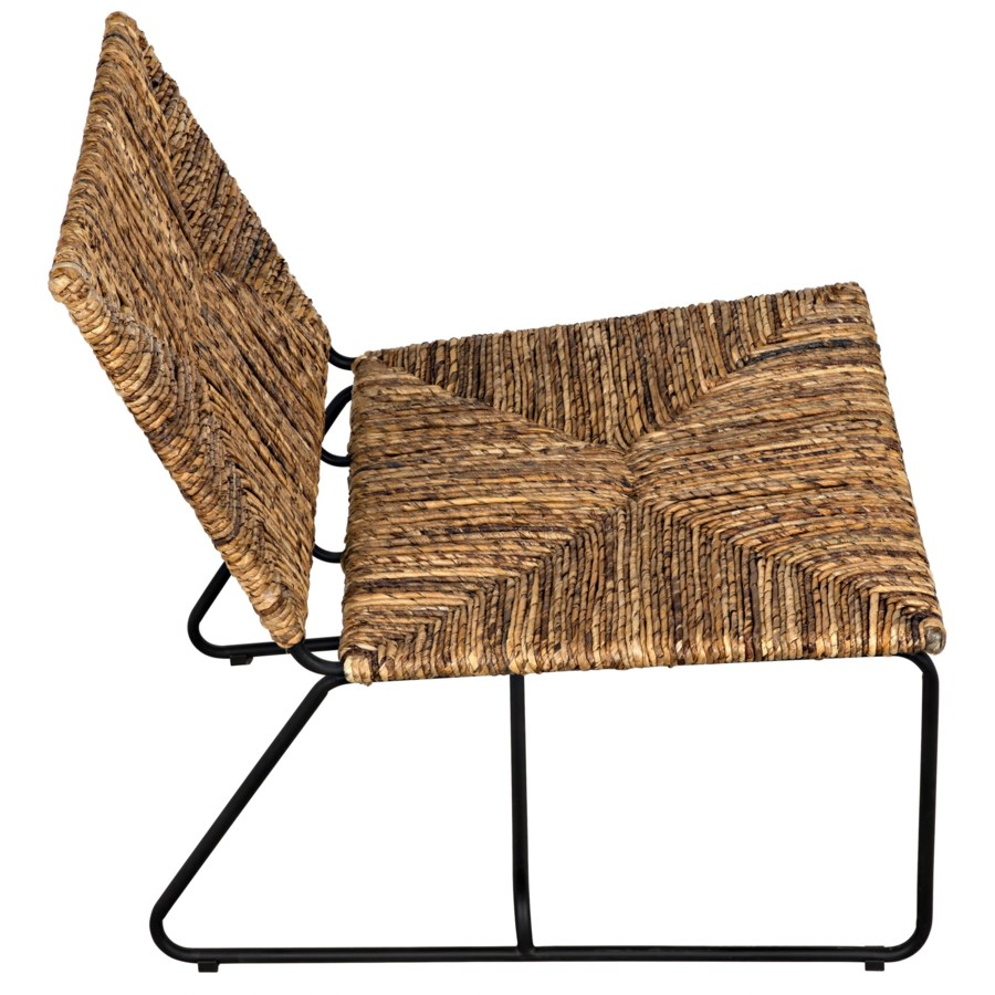 Setan Woven Chair w/Metal Frame