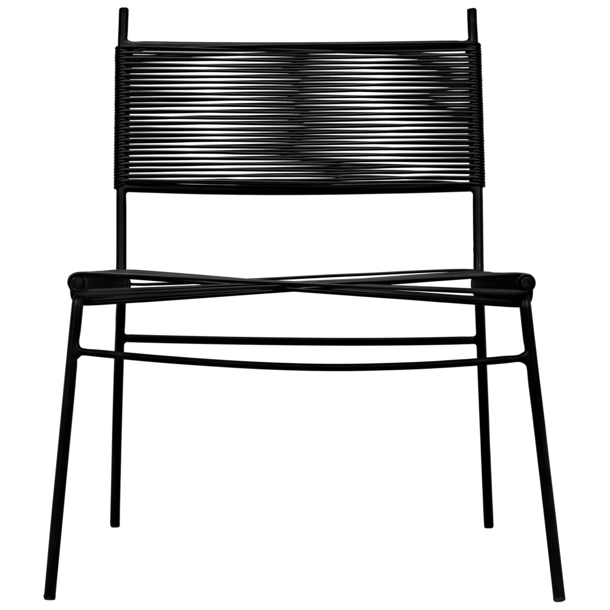 Schwartz Chair with Steel Frame