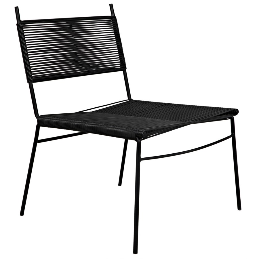 Schwartz Chair W/Metal Frame
