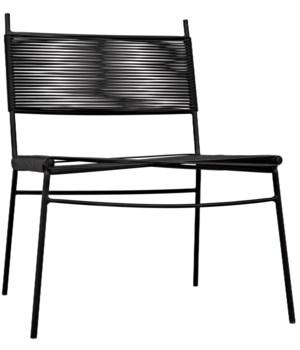 Schwartz Chair W/Metal Frame
