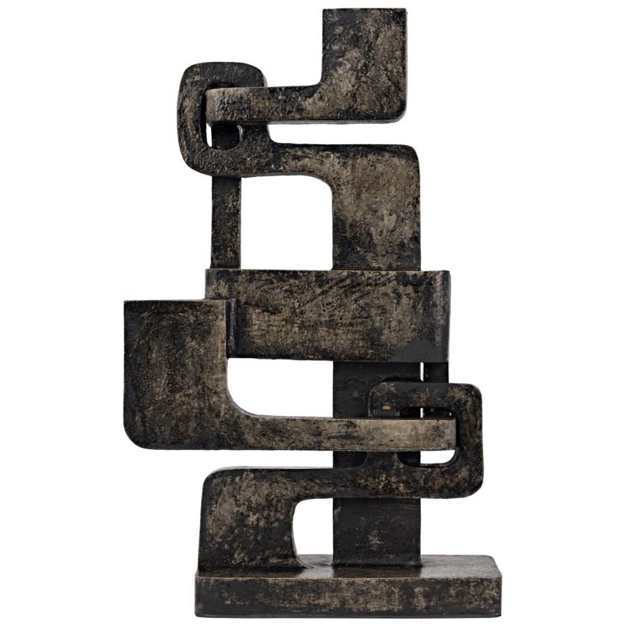 Kubric Sculpture, Aluminum