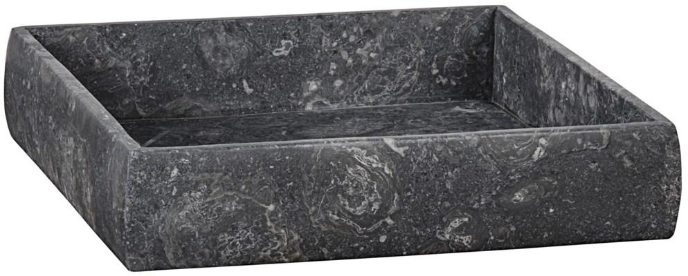 Tray, Black Marble