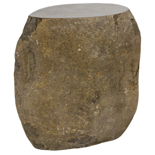 Boulder Riverstone Stool