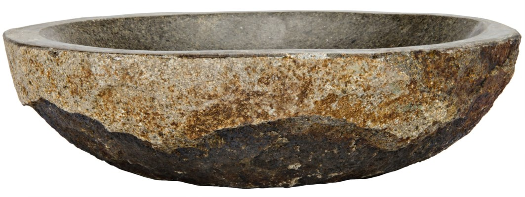 Boulder Riverstone Bowl, Small
